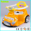 Carro elétrico para miúdos, carro de balanço do motor dobro do brinquedo do bebê