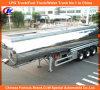 42cbm 42000 litros de aluminio de la aleación del tanque de acoplado de gasolina y aceite semi