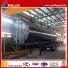 Reboque dobro do tanque do asfalto da capacidade dos eixos 20-50 Cbm Semi