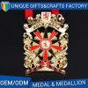 Medaglia su ordinazione Bronze dell'oro/nichel/di sport del premio del metallo