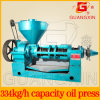 Máquina grande de la extracción de petróleo del cacahuete de la salida de poco ruido