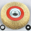 High Quality (Crimped Wire, 75mm, 85mm, 100mm, 125mm, 150mm, 175mm, 200mm, 250mm, 300m 직경)를 가진 주름을 잡은 Wire Wheel Brushes