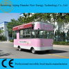 Carro de sorvete elétrico de quatro rodas com alta quaiity