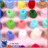 Изготовленный на заказ Eco-Friendly цветастая оптовая ровинца пряжи шерстей