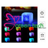 Calendar/Temperature Free Drop Shipping를 가진 다색 Digital Glowing LED Color Change Digital Alarm Clock