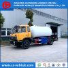 나이지리아 10cbm 가스 채우는 유조 트럭 LPG 자른 꼬리 트럭 자동차용 휘발유 역 트럭에 있는 최신 판매