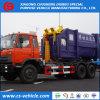 판매를 위한 HOWO/Dongfeng 6X4 그네 팔 유형 쓰레기 트럭 훅 상승 쓰레기 트럭