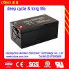 batterie solaire de cycle profond d'acide de plomb de 12V 200ah