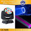 Het spectaculaire Grafische Licht van het Effect van 19 X15W RGBW Bewegende