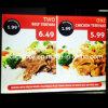 СИД Menu Light Box для быстро-приготовленное питания Menu Board СИД Menu Light Box Restaurant