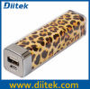 LippenGloss Power Bank 2200 Milliamperestunde (PB-S203-Leopard)