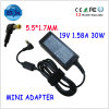19V 1.58A 30W Notebook Battery Adapters per Acer Aspire Un 721 751h 752 A110
