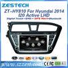 Percorso di GPS dell'automobile dello schermo di tocco per Hyundai I20 2014