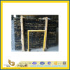 Countertop 또는 Vanitytop (YQC)를 위한 Polished Natural Black Portoro Marble Slabs