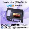 Jogador InCar de DVD GPS para o balão flatable do porco de Honda Civic (SD-6051) para promoções ao ar livre/propaganda (B3011)