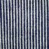 Tela azul y blanca de la raya del algodón del cáñamo 240GSM (QF13-0014)