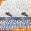 Tegel van de Vloer van de Muur van de Badkamers van de Druk van het Bouwmateriaal 3D Ceramische