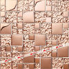 Il vetro placca il mosaico (MD48BM)