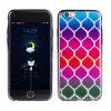 iPhone 7のための二重IMDの印刷TPUのきらめきの電話カバー