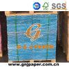 Карточка печатание по-разному размеров цветастая бумажная в листе