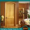 Porte de panneau intérieure classique en bois solide