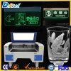 Лазер гравер CNC машины 100W гравировки лазера СО2 стеклянный