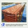 Farbe beschichtetes (vorgestrichenes) Metall, das Stahlblech-galvanisierte Dach-Platte Roofing ist