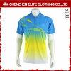 色の組合せの人の習慣によって印刷されるポロシャツ(ELTMPJ-619)
