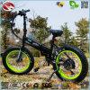 Foldable En15194 350Wの電気バイクのディスクブレーキ自転車の脂肪質のタイヤの小型スクーター