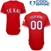 Baseball rosso Jersey della dogana dei Texas Rangers
