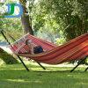 Im Freienfreizeit-Baumwollkampierende Schlafenhängematte