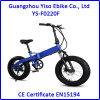 20 가스 주머니 유형 완충기를 가진 인치에 의하여 숨겨지는 건전지 뚱뚱한 E 자전거
