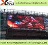 P10 impermeable RGB al aire libre LED que hace publicidad del módulo video de la pantalla de la pared