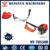 Hy-Tu550d 43ccガソリン芝刈機の手動芝刈機のLowes 2の打撃の芝刈機