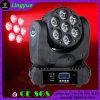 testa mobile professionale dell'indicatore luminoso 7X15W RGBW 4in1 LED della fase