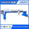 Maquinaria 2016 del corte de gas del plasma del CNC del pórtico