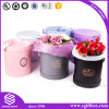 Prêmio de papel promocional de luxo Embalagem redonda Caixa de flores
