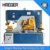 Ironworker hidráulico para perfurar, cortar, dobrar-se e entalhar