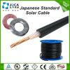 Японский стандарт PSE одобрил 1*2mm2 кабель изолированный XLPE солнечный HCV