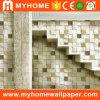Papel pintado moderno 3D del diseño del ladrillo de la decoración casera