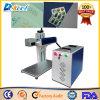 Etiqueta de plástico portable del CNC del laser del CO2 para el empaquetado de la medicina