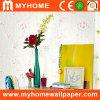 Recubrimiento de paredes del estilo de país con floral