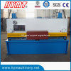 Placa de aço Cutting Machine da máquina de QC11y-6X2500 Nc Control Hydraulic Guillotine Shearing