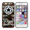 De Mobiele Toebehoren van goede kwaliteit van de Telefoon de het Beroemde Geval/Dekking van het Embleem van het Merk voor iPhone 5/6/6 plus