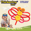 Brinquedo educacional da inteligência dos blocos de apartamentos plásticos para 3-6 miúdos