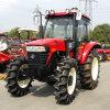 100 Tractor van het Wiel van het Ontwerp van PK 4WD de Nieuwe die in China wordt gemaakt