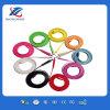 La buena calidad muchos colorea el cable plano del USB del micr3ofono