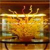 Het gouden Geblazen Beeldhouwwerk van de Ambacht van het Glas voor de Decoratie van het Hotel