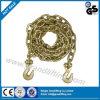 G80 oro galvanizado eslinga de cadena con gancho