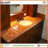 Hospitality Bathroomのための赤いRojoアリカンテMarble Vanity Top